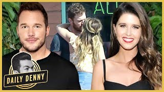 Chris Pratt Spotted Kissing Katherine Schwarzenegger | #DailyDenny