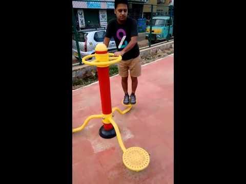 Amazing Public Park Exercise Equipment
