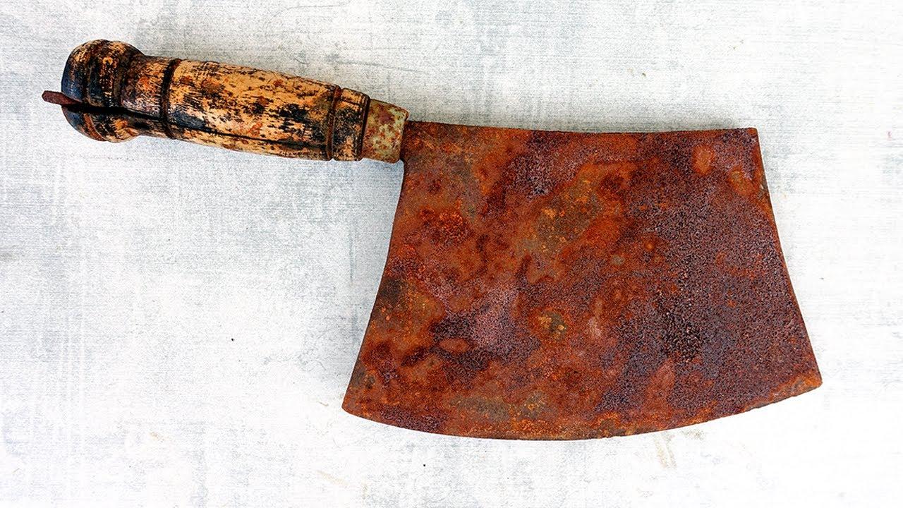 Restoration Rusty Japanese Cleaver