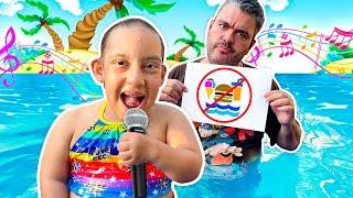 Regras de Conduta na Piscina MÚSICA para CRIANÇAS   Songs for Children - MC Divertida