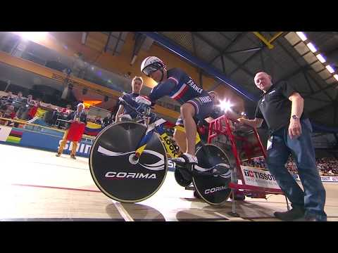 Mens 1km Time Trial Final - 2018 UCI Track Cycling World Championships