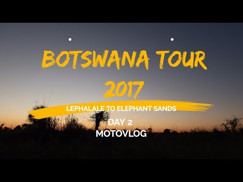 Motorcycle Adventure Botswana - Day 2