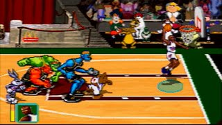 Space Jam - Tune Squad vs. Monstars *Gameplay* [PS1]