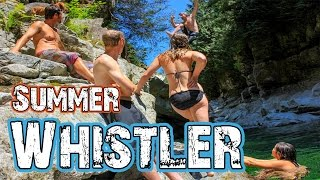 whistler summer fun explore canada travel vlog 12