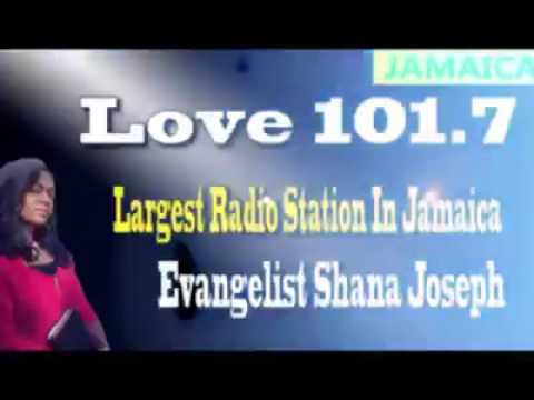 NYC Harvester LIVE on LOVE 101 FM - Jamaica's Most Popular Radio Station (Shana Joseph)
