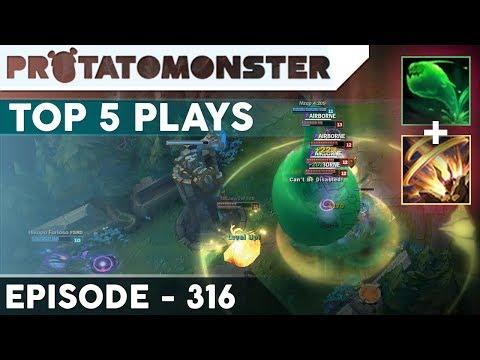League of Legends Top 5 Plays Week 316 | Perfect Setup (Unbelievable Moments)
