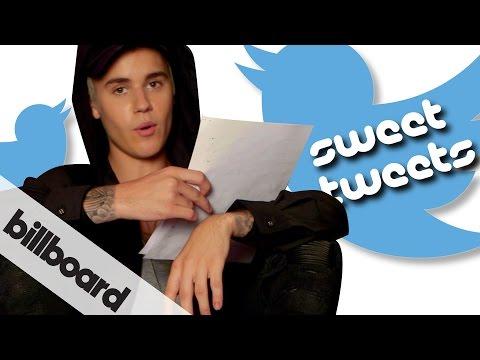 Justin Bieber reads fan Sweet Tweets | #BieberOnBillboard