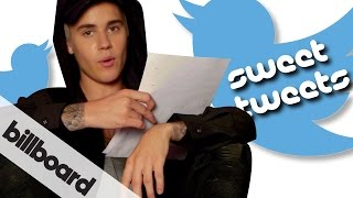 Justin Bieber reads fan Sweet Tweets | #BieberOnBillboard