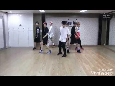 V ft SEOK JIN-even if i die,its you.[DANGER DANCE PRACTICE]