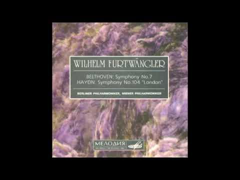 """HAYDN: Symphony No. 104 In D Major """"London"""" Hob. I:104 / Furtwängler · Wiener Philharmoniker"""