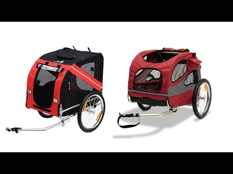 Top 5 The Best Bike Trailers For Dogs  Reviews