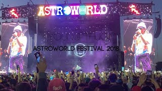 Young Thug Astroworld Festival NRG Park 2018 Ft Gunna and Trippie Redd