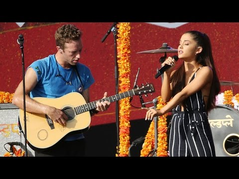 "Ariana Grande & Coldplay Duet Harry Styles' Written Track ""Just a Little Bit of Your Heart"""
