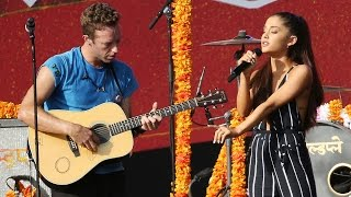 """Ariana Grande & Coldplay Duet Harry Styles' Written Track """"Just a Little Bit of Your Heart"""""""