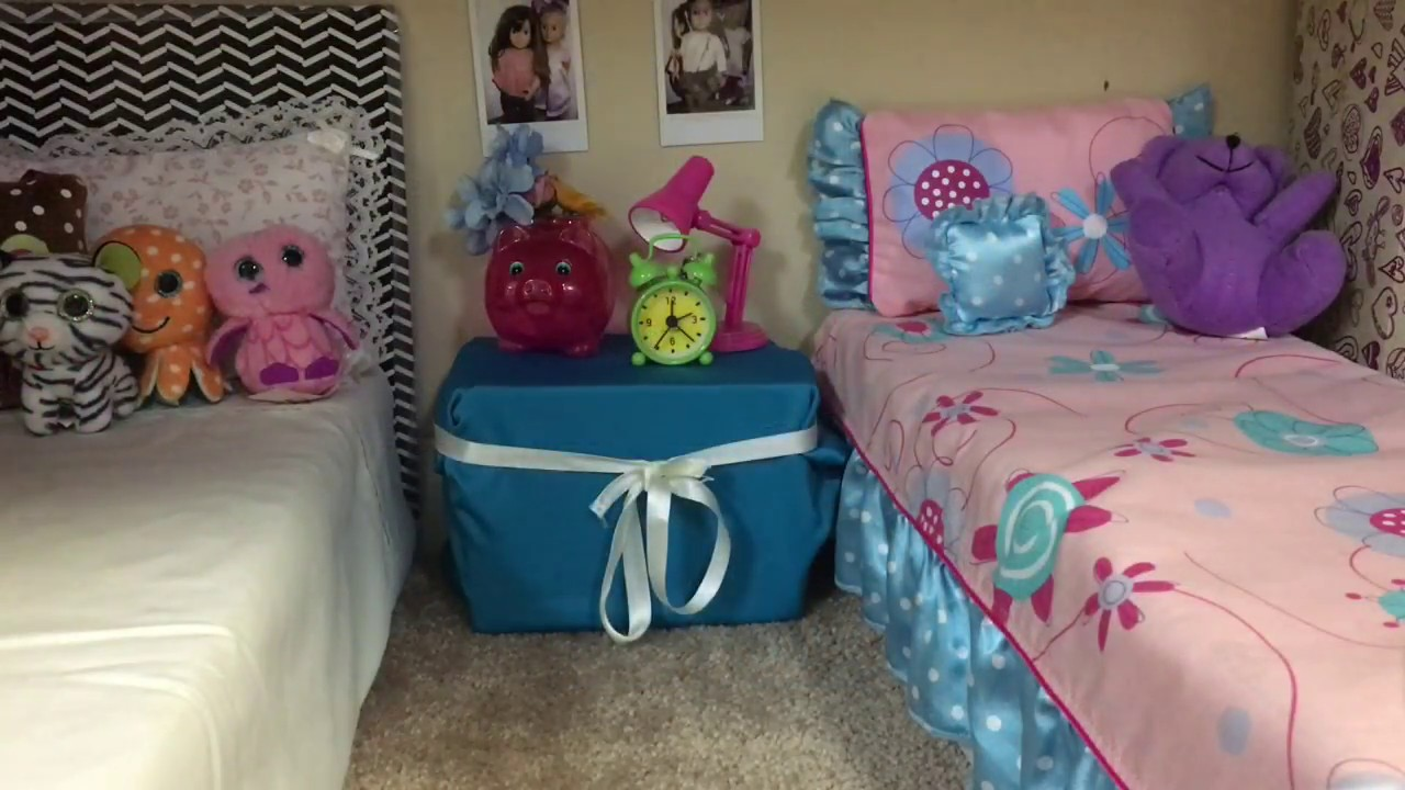 How to make an American Girl Doll Bedroom