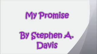 MY PROMISE - JANJIKU (puisi bahasa inggris dan terjemahan)