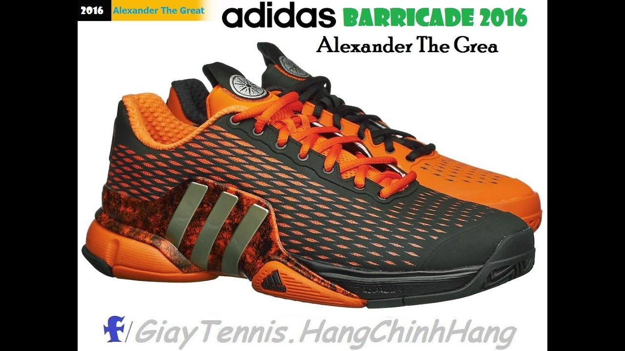 new products 482b2 4a804 Tennis Adidas Barricade 2016 Alexander the Great