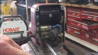 Gravely Walk Behind Tractor - Dismantling the Wico XH