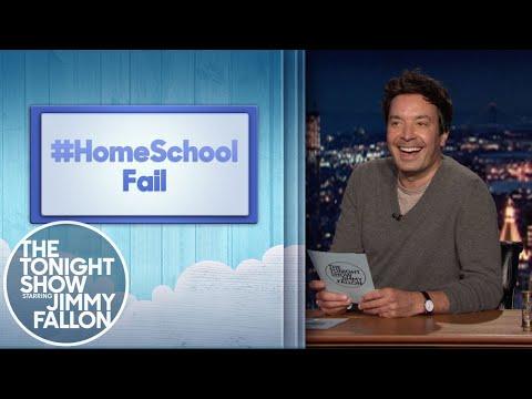 Hashtags: #HomeSchoolFail