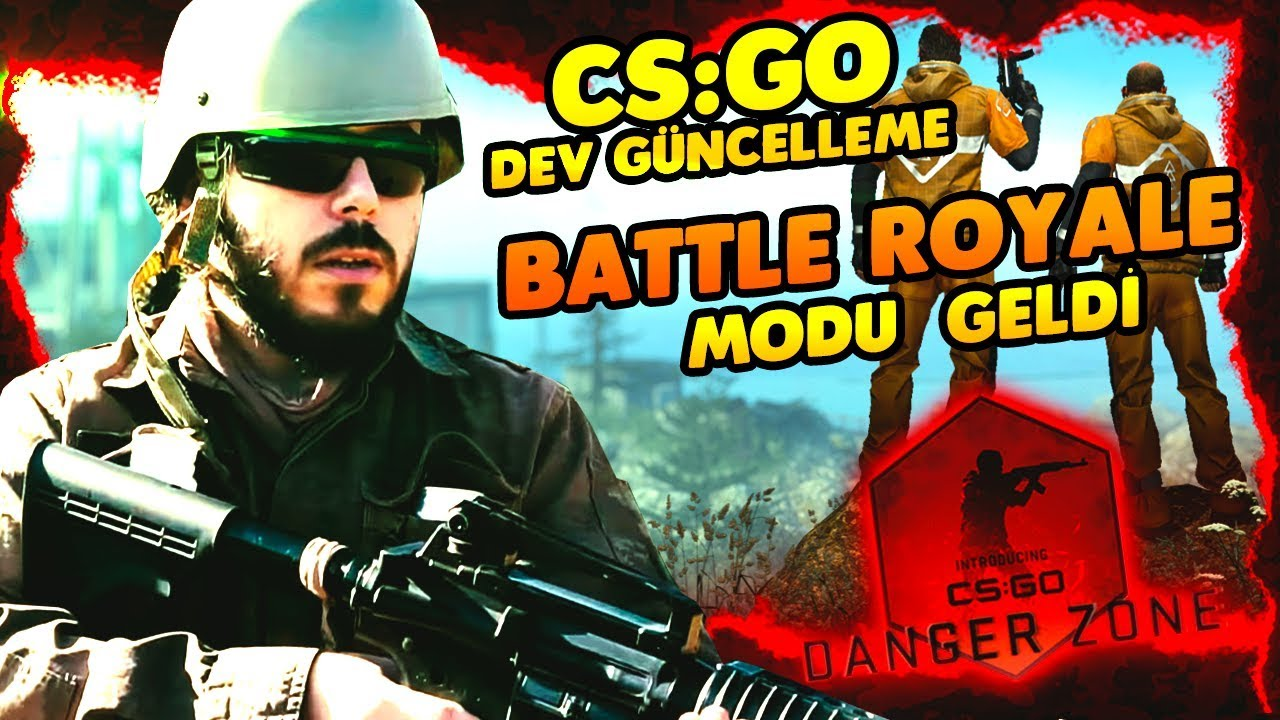⚡ OHAA CS:GO BATTLE ROYALE GELDİ