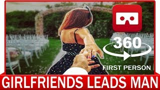 360° VR VIDEO -  #FollowMeTo - Girlfriend Leads Man Around The World | VIRTUAL REALITY 3D