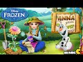 Disney Frozen Anna Grows Flower - Disney Frozen Games for Girls