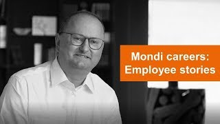 Bernhard's learning journey | Employee stories | Mondi careers