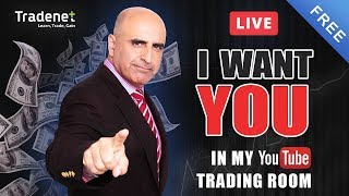 Live Day Trading room streaming - 9.13.18