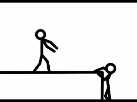 Stick Figure 2 Fall Of A Cliff Youtube