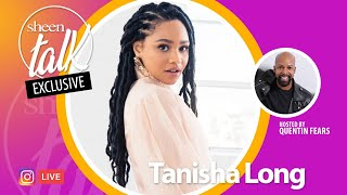 Tanisha Long Goes LIVE with Quentin Fears and Sheen Magazine | Sheen Talk Live