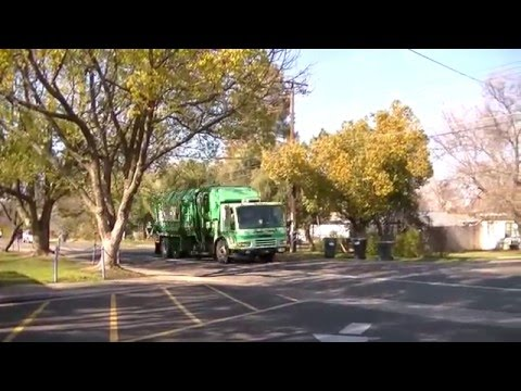 Sacramento County Garbage Truck Compilation