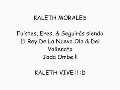 7 Palabras Letra -  Kaleth Morales