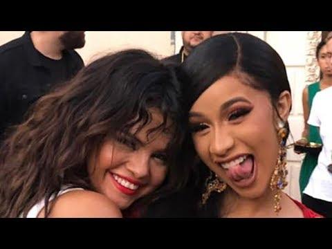 Selena Gomez & Cardi B TEASE New Collaboration
