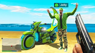STEALING YouTuber Super BIKES In GTA 5