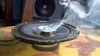 Palenie głośnika SONY XS-F1734