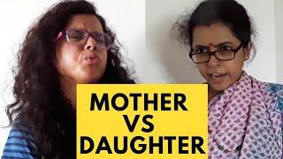 Mother vs Daughter | New Bangla Comedy Video 2018