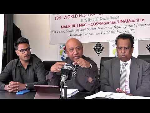 Maurice Info -  Conférence de presse de l'UNA Mauritius
