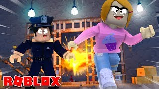 Roblox Prison Break With Molly!