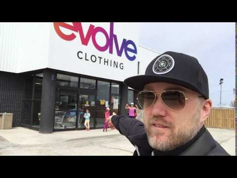 Everyone is excited for the opening of Evolve Clothing in Bolton!