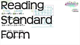 Reading Standard Form | Maths GCSE and iGCSE Revision