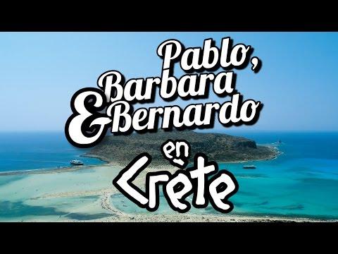 Barbara, Bernardo & Pablo en Crète