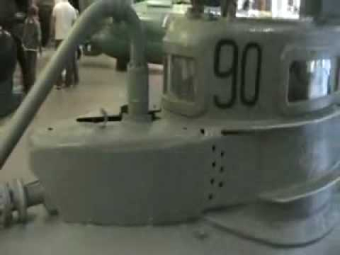 Biber No.90 midget submarine