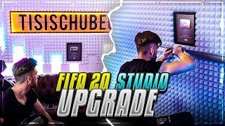 Studio UPGRADE zu FIFA 20 🔥😱 XXL NANOLEAF RÜCKWAND bauen !!