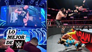 Raw Latino y Brock Lesnar al asecho: Lo Mejor de WWE