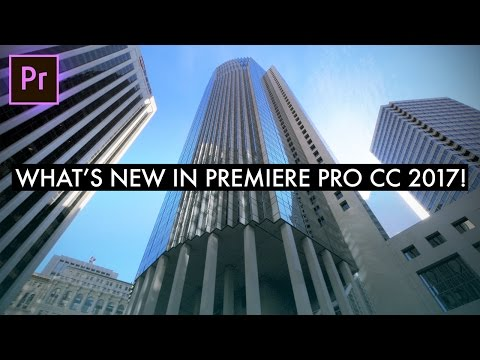 What's New in Adobe Premiere Pro CC 2017 APRIL UPDATE! (Text Titles, Essential Graphics & Sounds)