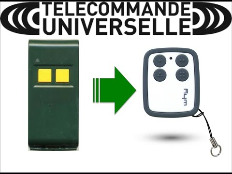 APRIMATIC Télécommande Universelle multifréquence Gate garage door pourquoi EVO v10