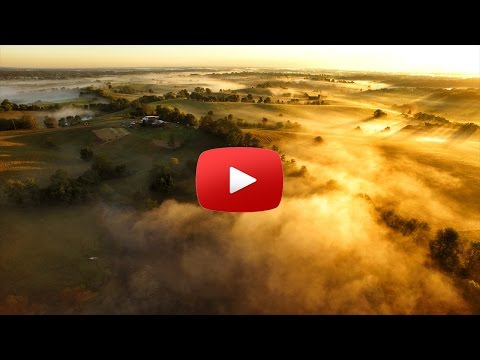 Beautiful aerial scenery - Bluegrass Region of Kentucky - Best Real Estate Agent in Kentucky