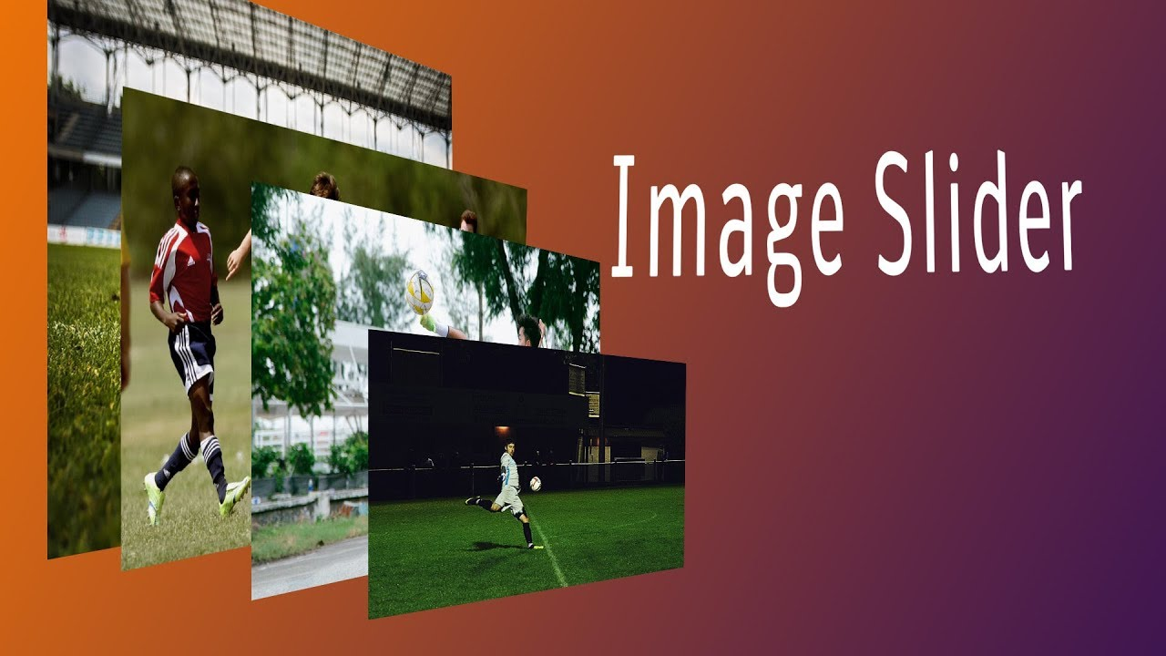 How To Make Image Slider In HTML And CSS With Fade Effect In 5 Minutes