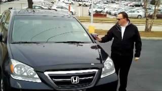 Used 2005 Honda Odyssey EX-L for sale at Honda Cars of Bellevue...an Omaha Honda Dealer!