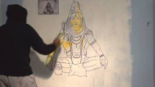 Inkquisitive Illustration Ft. Anish K - Visions of Shiva